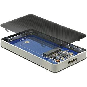 Delock externes M.2 SSD Gehäuse USB 3.0 Typ micro-B DELOCK 42594