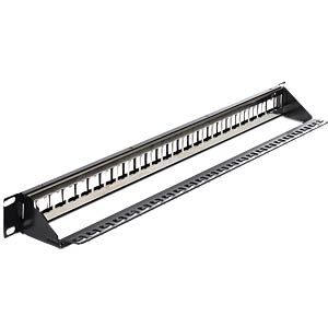 "19"" Keystone Patchpanel 24 Port DELOCK 43277"