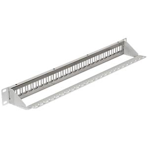 "Delock 48 cm 19"" Keystone patch panel 24 port DELOCK 43302"