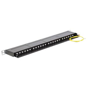 "Patchpanel, 19"", 24-Port, Cat.6, 0,5 HE DELOCK 43316"