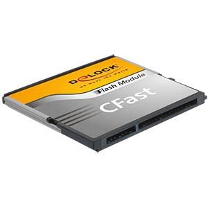 CFast-kaart 8GB, SATA 6 Gb/s, type MLC A19 DELOCK 54538