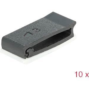 DELOCK 60185 - Kabelhalter mit Verschlussclip