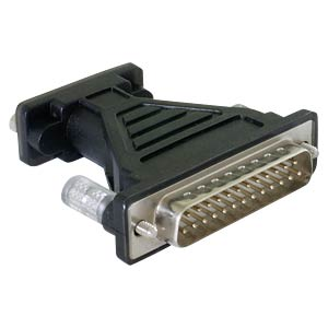 Adapter USB 2.0 > Seriell 1x 9 Pin + 25 Pin FTDI DELOCK 61308