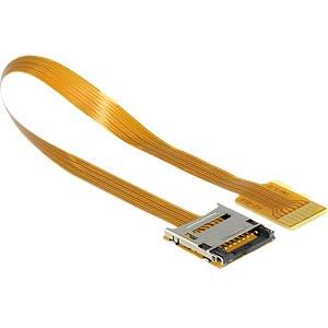 MicroSD to microSD extension 16cm DELOCK 61870