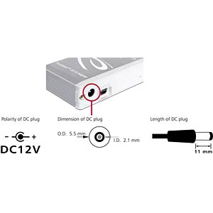 Delock Thunderbolt to SATA 6 Gb/s converter DELOCK 61971