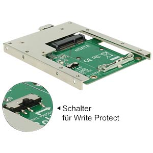 USB 3.0 > mSATA converter DELOCK 62468