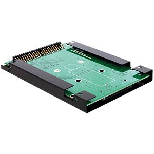 "IDE 44-pin > mSATA with 2.5"" frame converter DELOCK 62477"