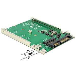 "SATA 22-pin > M.2 NGFF 2.5"" 7 mm DELOCK 62544"