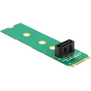 Adapter M.2 NGFF > SATA 7 Pin DELOCK 62548