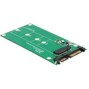 Konverter SATA 22 Pin > M.2 NGFF DELOCK 62551