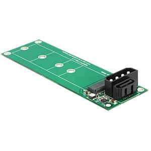 SATA 7-pin > M.2 NGFF converter DELOCK 62553