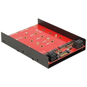 4x SATA > 4 x M. 2 converter DELOCK 62574