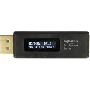 Delock Adapter Displayport Tester EDID Information OLED DELOCK 63338