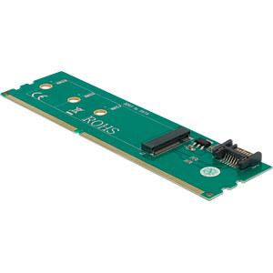 DELOCK 63960 - Adapter SATA + DDR3 zu M.2 Key B
