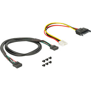 Front Panel 3.5 2x USB 3.0 + 2x USB 2.0 (Pfostenbuchse) DELOCK 63993
