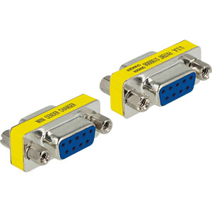 DELOCK 65008 - Adapter Sub-D 9Pin Buchse/Buchse