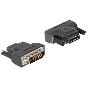 Adaptor DVI 24+1 plug > HDMI jack, LED DELOCK 65024