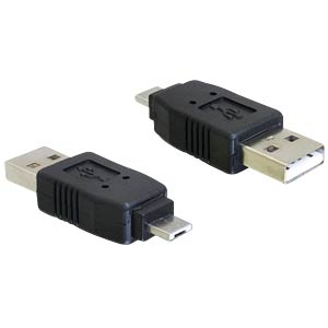 Adapter USB micro A Stecker > USB A Stecker DELOCK 65037