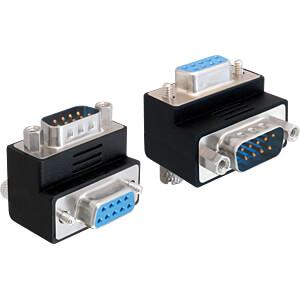 DELOCK 65267 - Adapter Sub-D 9 Pin Stecker > Buchse 270° gewinkelt