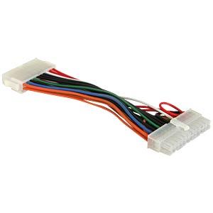 Power Mainboard ATX 24 Pin St > 20 Pin Bu, 15 cm DELOCK 65603
