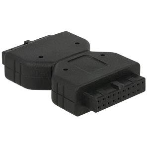 Adapter USB 3.0 Pfostenbuchse > Pfostenbuchse DELOCK 65679
