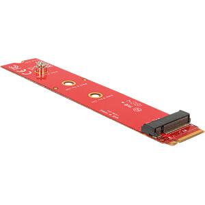 Delock Adapter M.2 Key M Stecker > M.2 Key M Slot DELOCK 65920