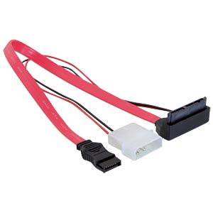 Micro SATA 16 Pin St > + 5 V/3,3 V Molex 30cm DELOCK 82551