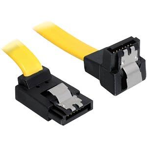 Delock Kabel SATA 6 Gb/s oben/unten Metall 50 cm DELOCK 82821