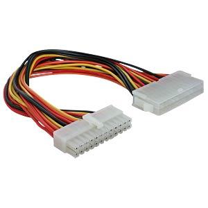 Power Mainboard ATX 24 Pin St/Bu 30 cm DELOCK 82989
