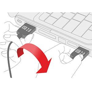 EASY-USB 2.0 A plug > USB 2.0 micro-B plug 1m DELOCK 83366