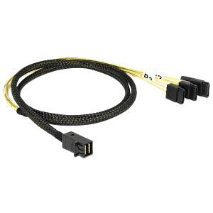miniSAS HD SFF-8643 > 4x SATA 7 Pin 1 m DELOCK 83393