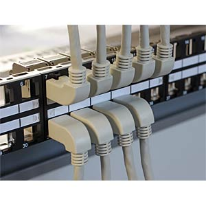 1,0m Cat.5e SFTP, RJ45, angulated / angulated DELOCK 83511