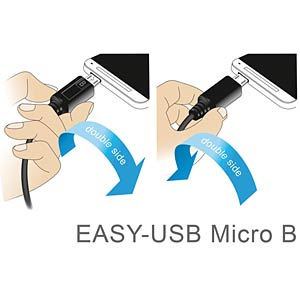 Cable EASY-USB 2.0-A male>Micro USB 2.0 m. angled l/r 2m DELOCK 83853
