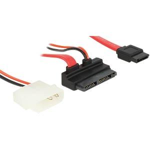 Micro SATA > SATA 7 pin+2pin Power 5V 60cm DELOCK 83912