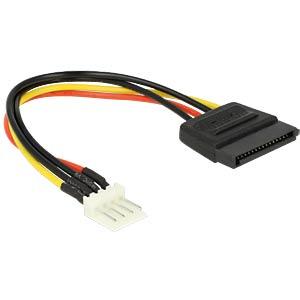 Power SATA 15 Pin St. > Floppy 4 Pin St. 15 cm DELOCK 83918