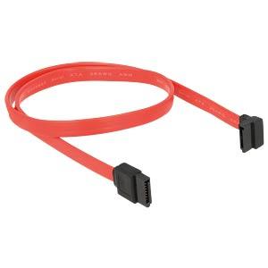Kabel SATA 50cm rot ob/ge DELOCK 84220