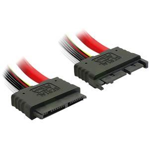Micro SATA 16 Pin Verlängerung 30cm DELOCK 84385