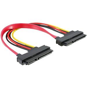 Kabel SATA 22pin > 22pin Bu/Bu 20cm DELOCK 84406