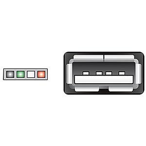 USB 2.0 Kabel, Pfostenbuchse auf A Buchse, 0,15 m DELOCK 84834