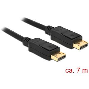 Kabel 4K DisplayPort 1.2 Stecker > DisplayPort Stecker, schwarz, DELOCK 84860