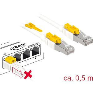 Patchkabel RJ45 Cat.6A SFTP Secure 0,5 m DELOCK 85330