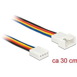 Delock Kabel Power 4 Pin Stecker > 4 Pin Buchse PWM, 30 cm DELOCK 85361