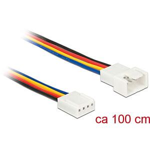 DELOCK 85364 - Delock Kabel Power 4 Pin Stecker > 4 Pin Buchse PWM