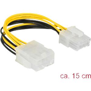 Kabel Mainboard, 8 Pin EPS Stecker auf 8 Pin EPS Buchse, 15 cm DELOCK 85451