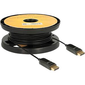 Kabel Displayport 1.2 Aktives Optisches Kabel 4K 15 m DELOCK 85730