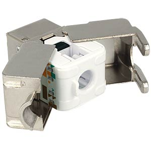 Keystone module RJ45 socket > LSA cat.6 DELOCK 86154