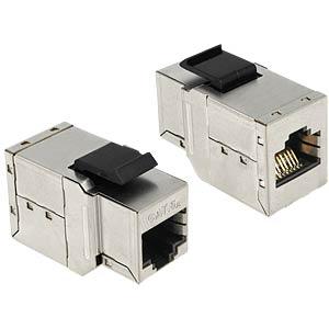 Keystone module RJ45 socket > socket cat.6A DELOCK 86166