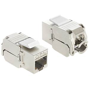 Keystone module RJ45 socket > LSA cat.6A DELOCK 86205