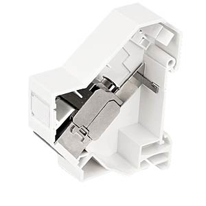 Keystone rail-mounting bracket with earth connection DELOCK 86232