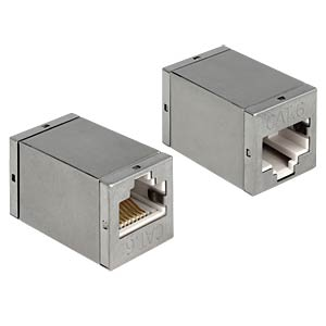 Delock RJ45 socket/socket cat.6 adapter DELOCK 86250